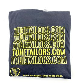Tone Tailors WWW charcoal/yellow shirt Large