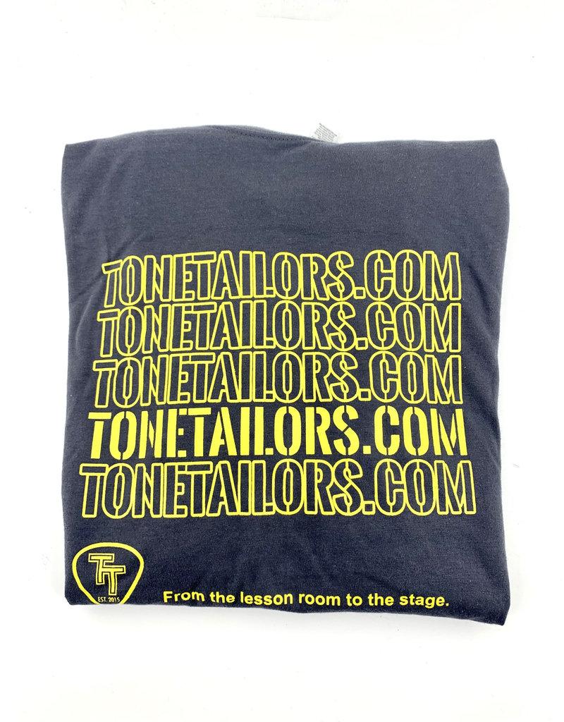 Tone Tailors WWW charcoal/yellow shirt Medium