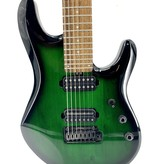 Sterling By Music Man Used Sterling by Music Man Petrucci 7 string trans green