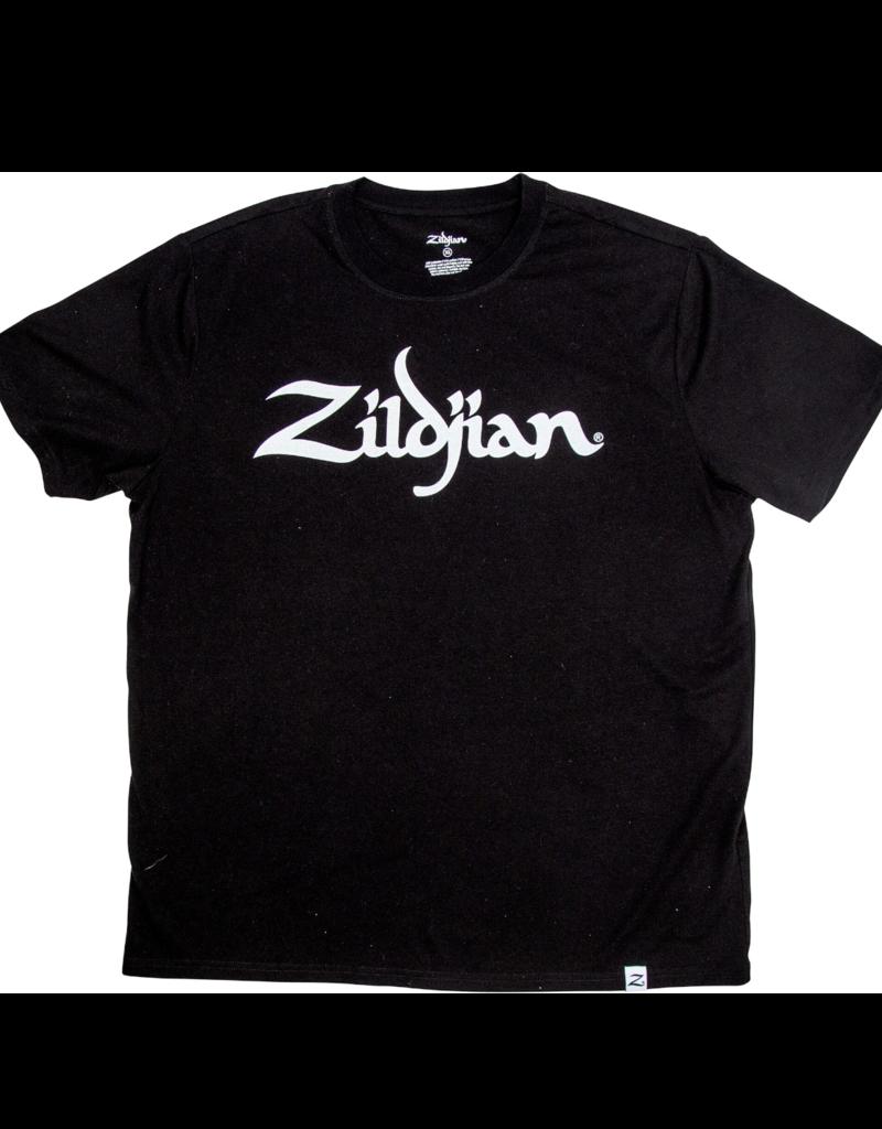 Zildjian ZILDJIAN CLASSIC BLACK LOGO TEE - Large
