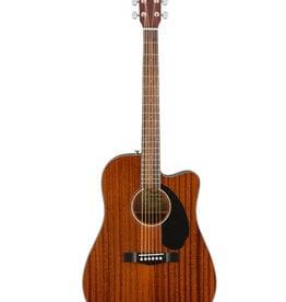 Fender Fender CD-60SCE Dreadnought, Walnut Fingerboard, All-Mahogany