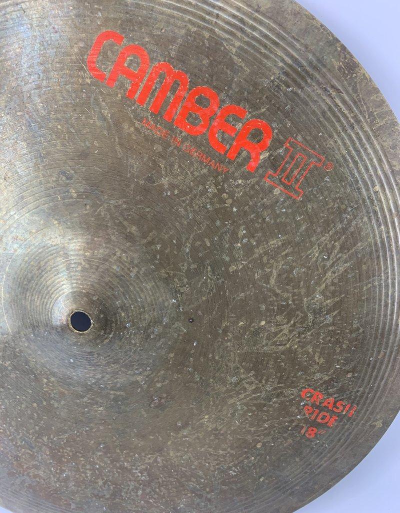 "Used Camber II 18"" Crash Ride"