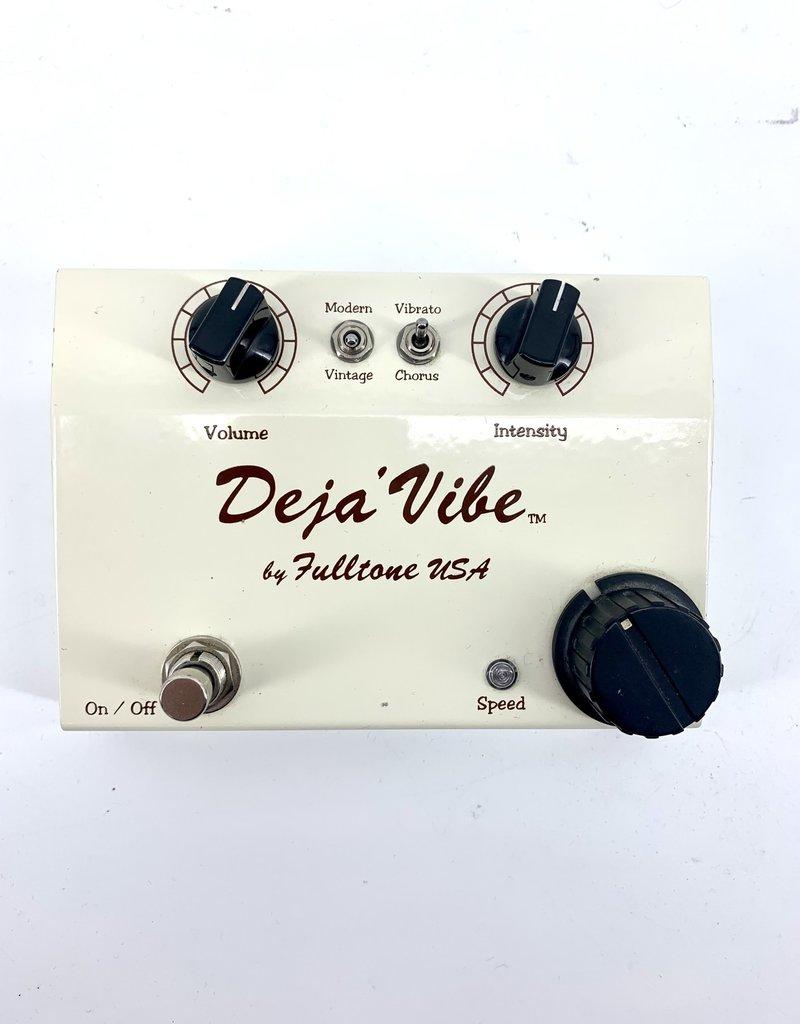 Used Fulltone Mini Deja Vibe Chorus and Vibrato Pedal