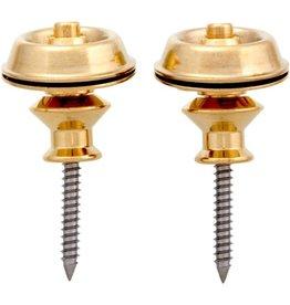 Allparts Allparts AP-6581 DUNLOP® STRAP LOCK SYSTEM, Gold