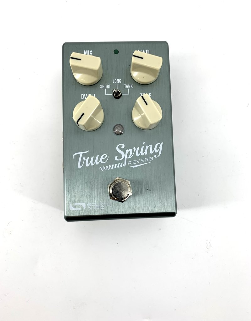 Source Audio Used Source Audio True Spring Reverb Pedal