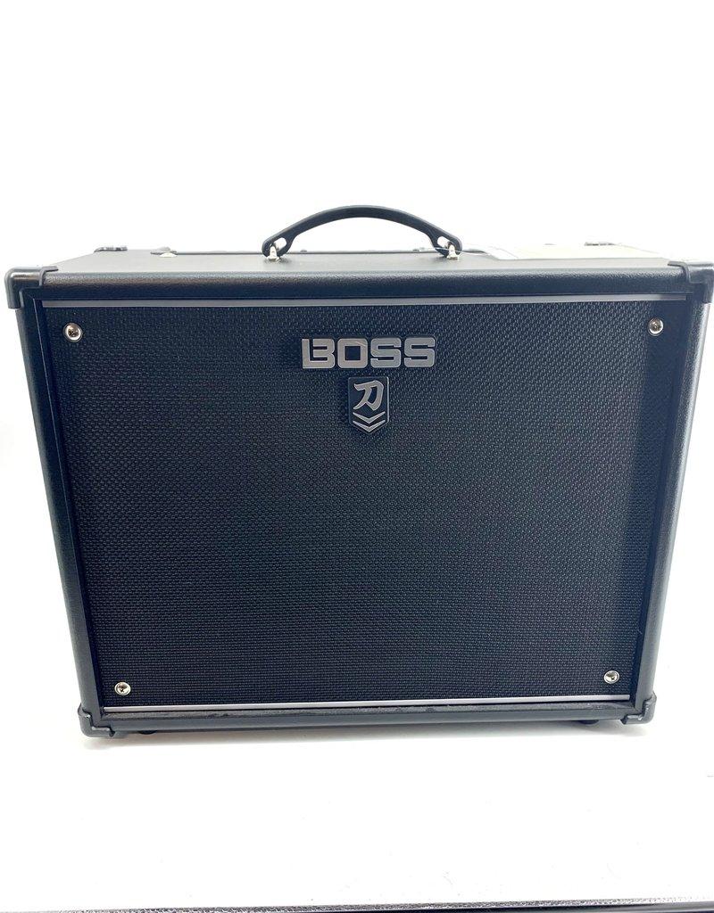 """Boss Used Boss KTN-100 Katana 100-Watt 1x12"""" Modeling Guitar Combo Amp"""