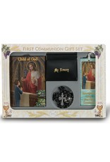 Child of God Boy's First Communion 6 Piece Deluxe Gift Set
