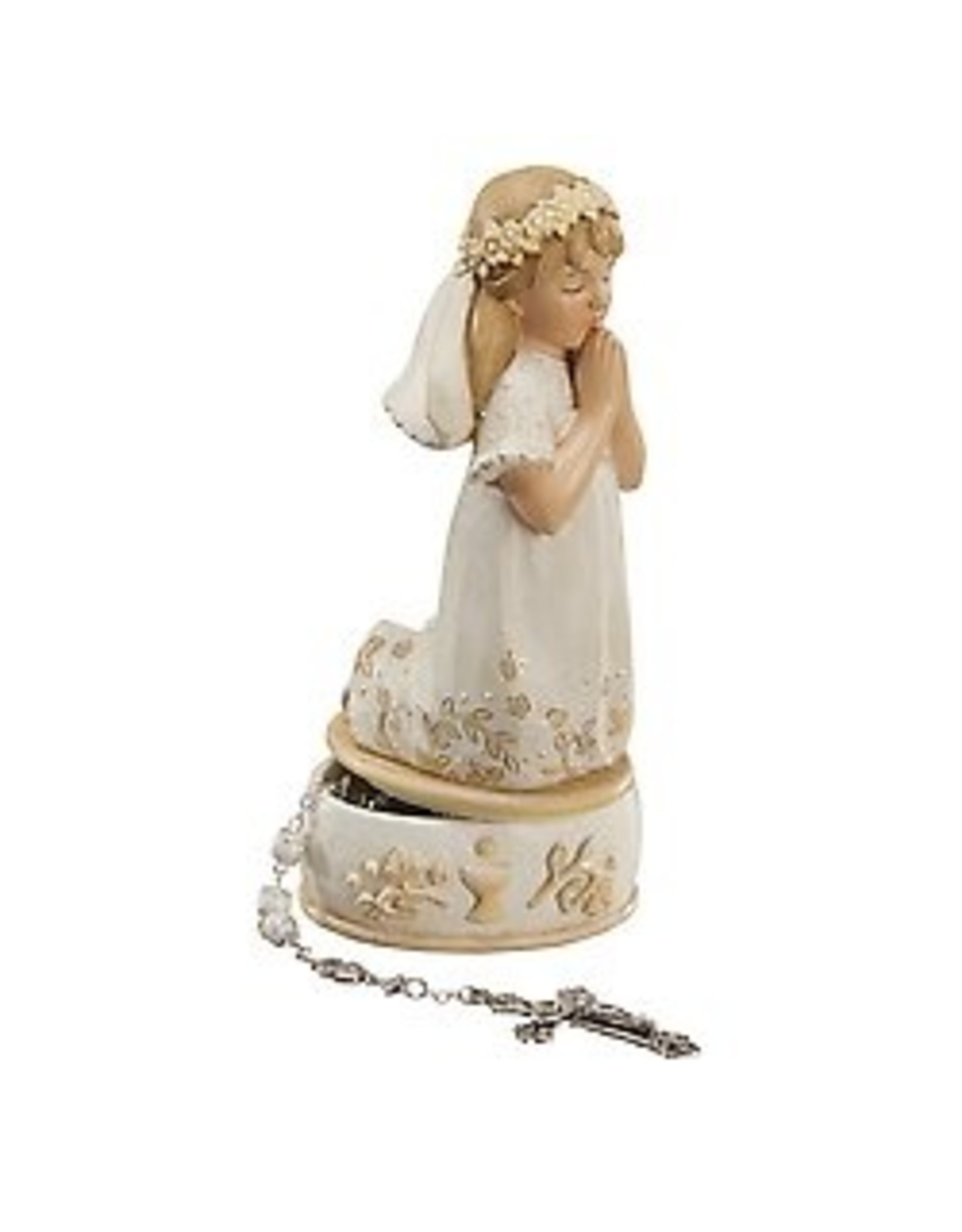 FC Kneeling Girl Comm Keepsake Box