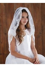 "Sacred Traditions FC Lace Veil 45"" L"