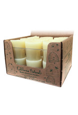 100% Beeswax Tapered Votive Candles - full box (18)