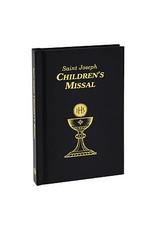 Saint Joseph Children's Missal black