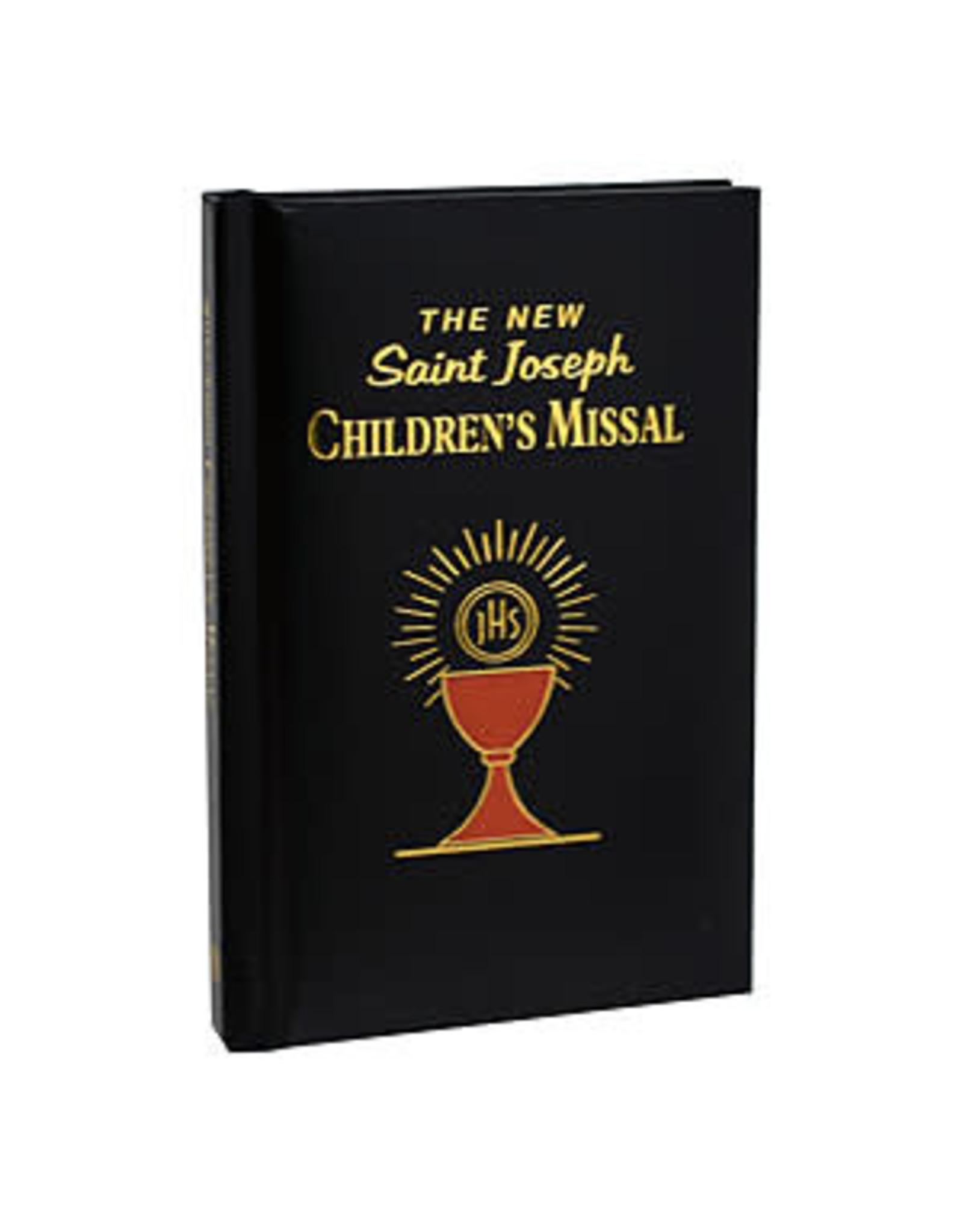 New Saint Joseph's Children's Missal black