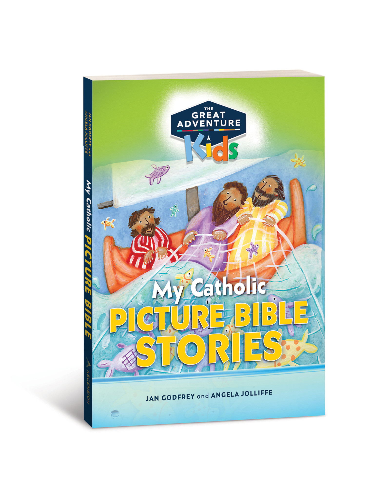 Great Adventure My Catholic Picture Bible Stories, Ages 4-7 - release date 7/17/20