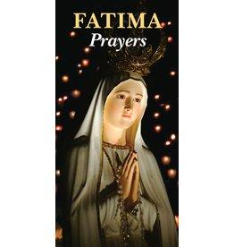 Fatima Prayers pamphlet