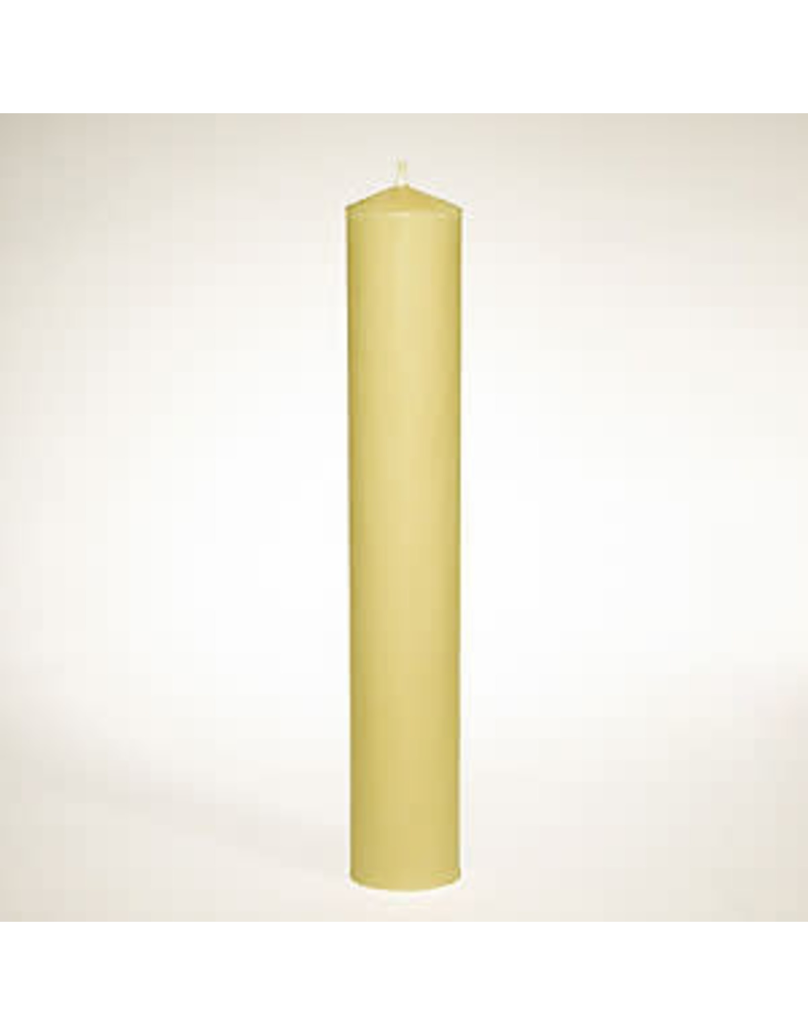 """100% Beeswax 1.5"""" x 12.75"""" Groove Base Candle Stick"""