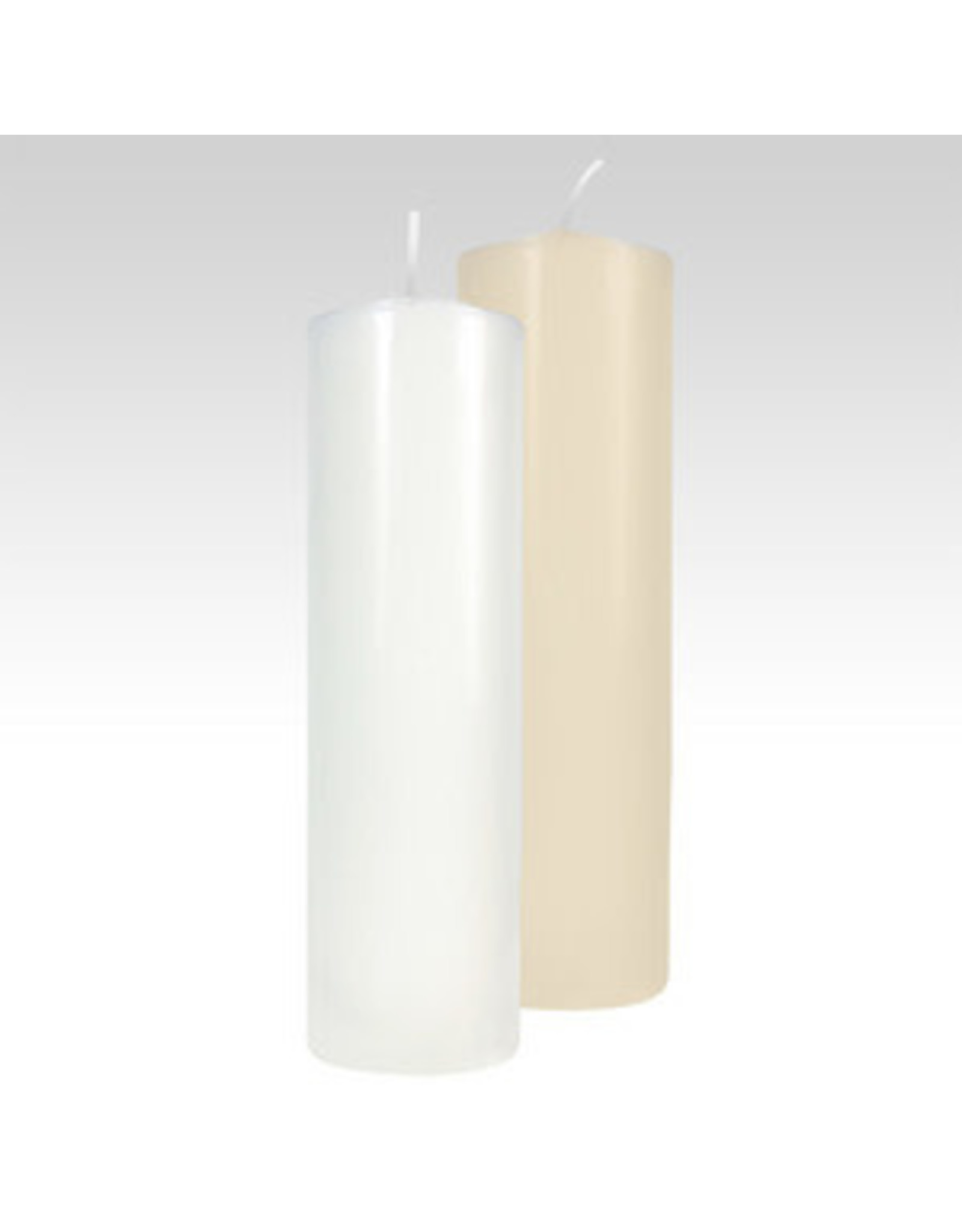 "2.8"" x 11.25"" White Fireside Pillar Candle"