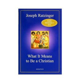 Ratzinger What It Means to Be a Christian pb
