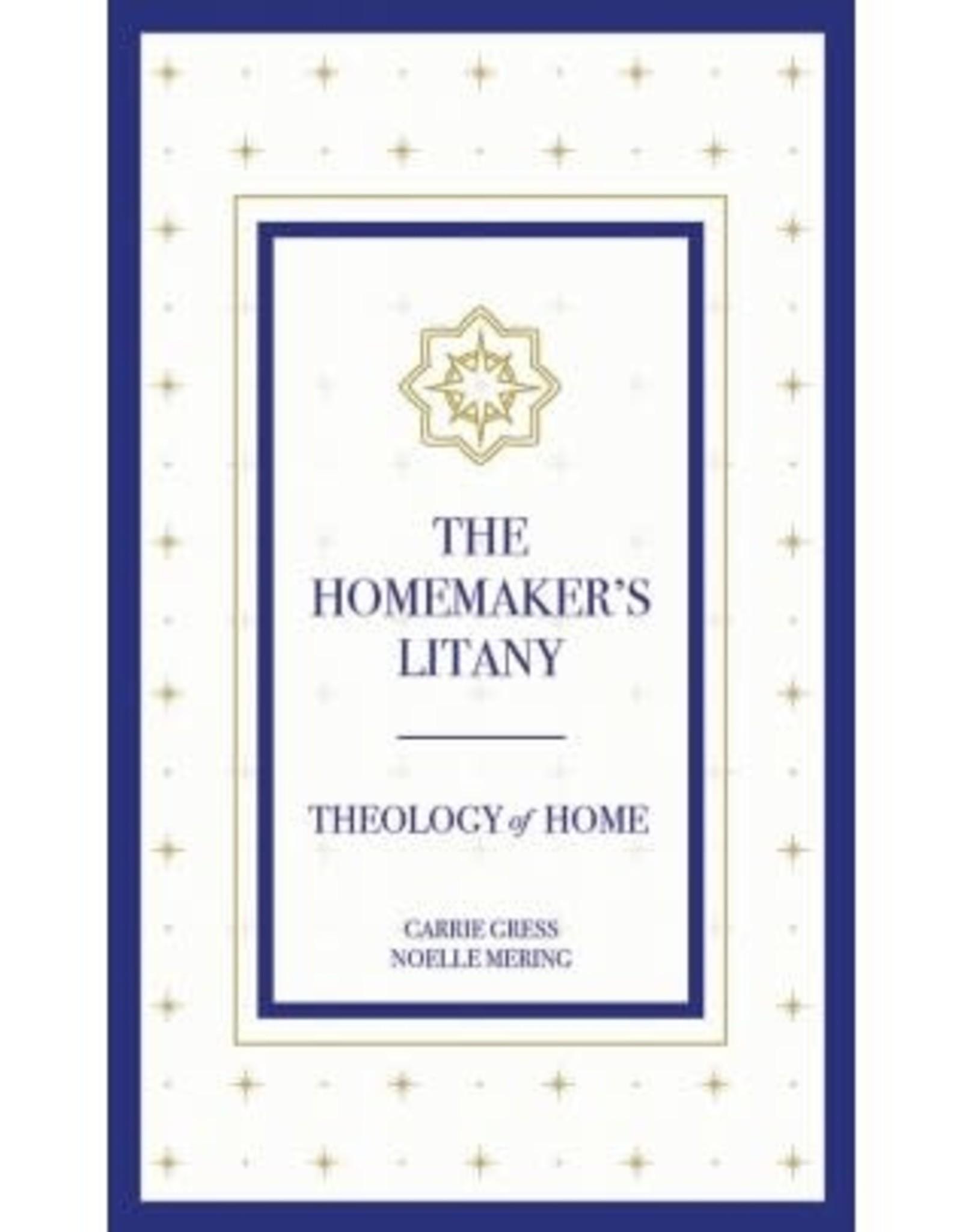 The Homemaker's Litany