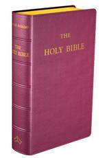 Douay-Rheims Bible (burgandy pocket size)