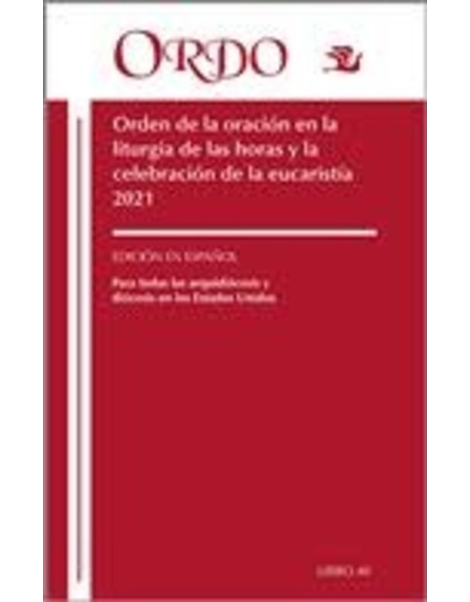 2021 Spanish Ordo/Order/ Prayer Liturgy of the Hours