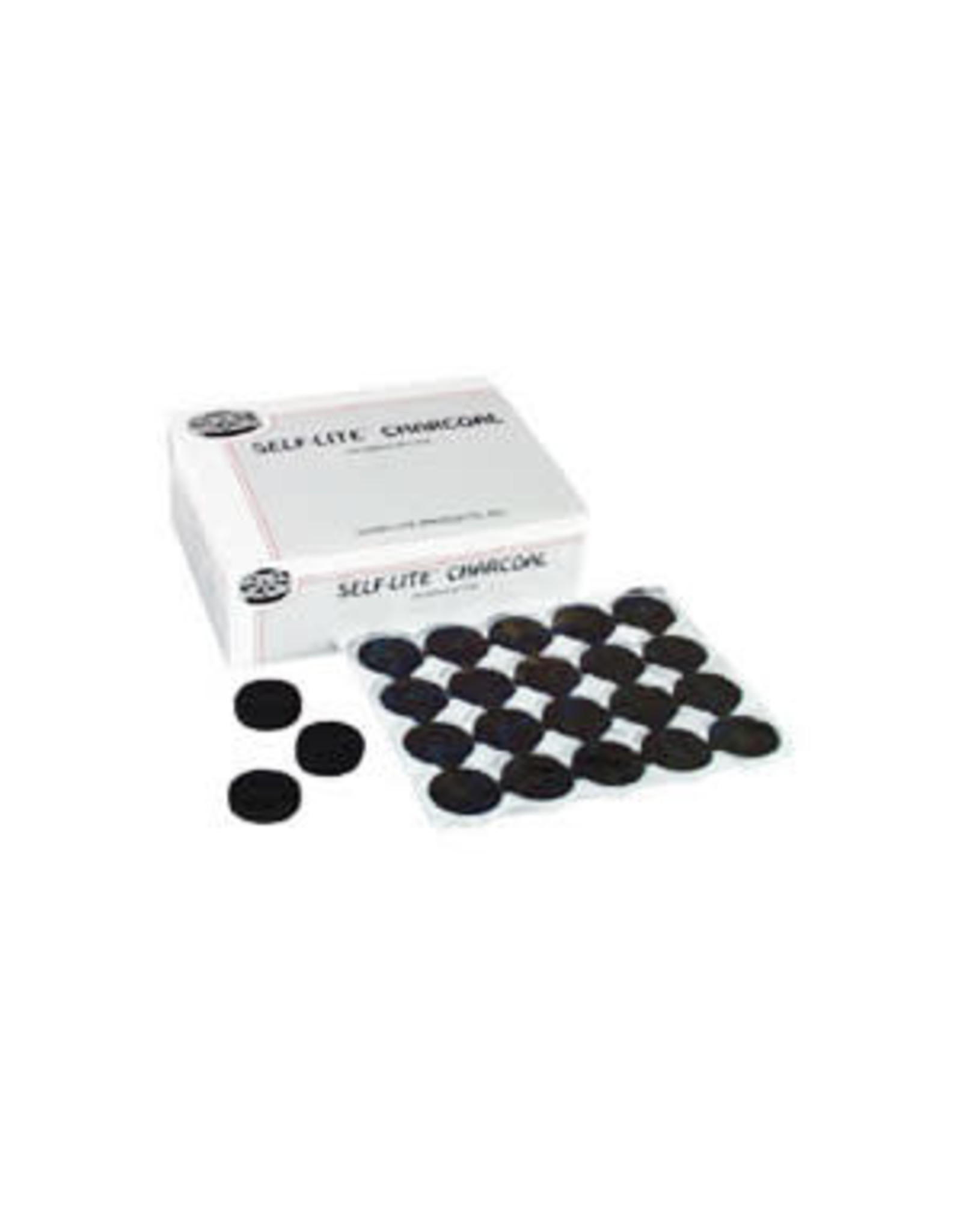 Self-Lite Charcoal for Incense (100/box)