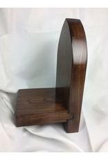 Gothic Display Shelf 4x8, Oak finished w/ Jacobean/Tung Oil