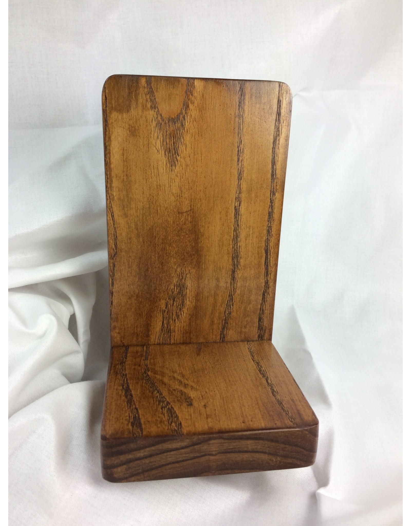 Standard Display Shelf 4x8, Ash finished w/ Early American/Tung Oil