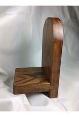 Roman Display Shelf 4x8, Ash finished w/ Early American/Tung Oil
