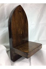 Gothic Display Shelf, 5x11, Oak finished w/ Jacobian/Tung Oil