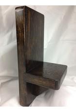 Standard Display Shelf, 5x11, Oak finished w/ Jacobean/Tung Oil