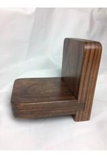 Small Display Shelf, 3.5x4.5, Walnut finished w/Tung Oil