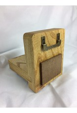 Small Display Shelf, 3.5x4.5, Elm finished w/Danish Oil