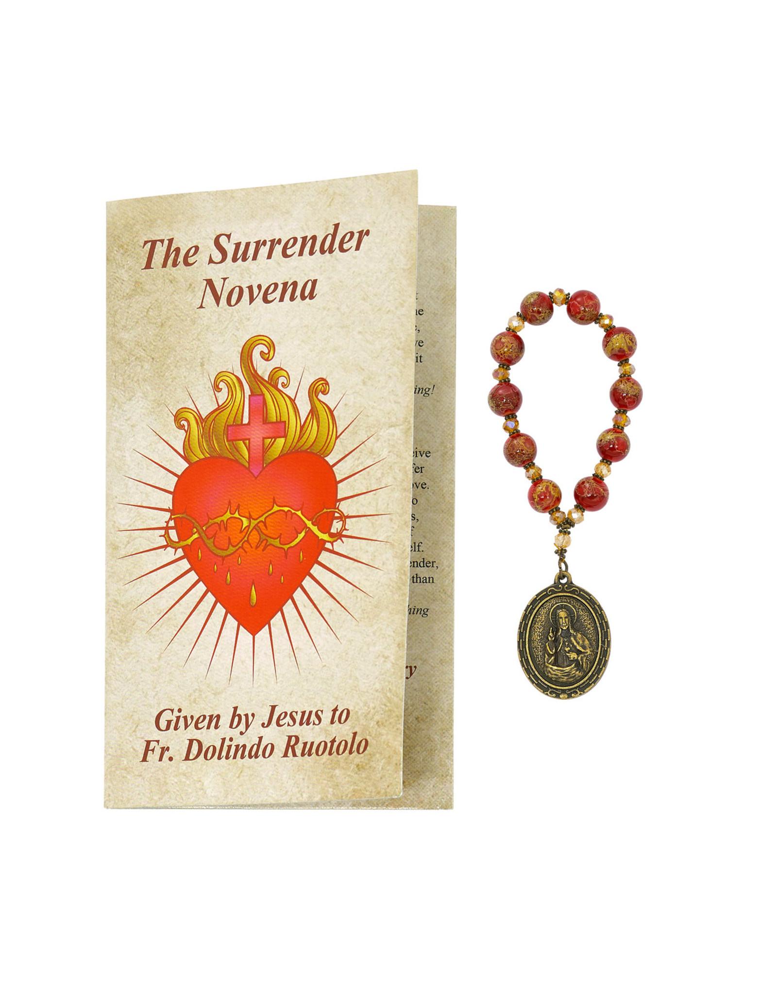 Surrender Novena booklet & beads