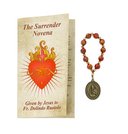 Surrender Novena booklet & beads