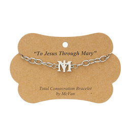 Total Consecration to Mary chain bracelet
