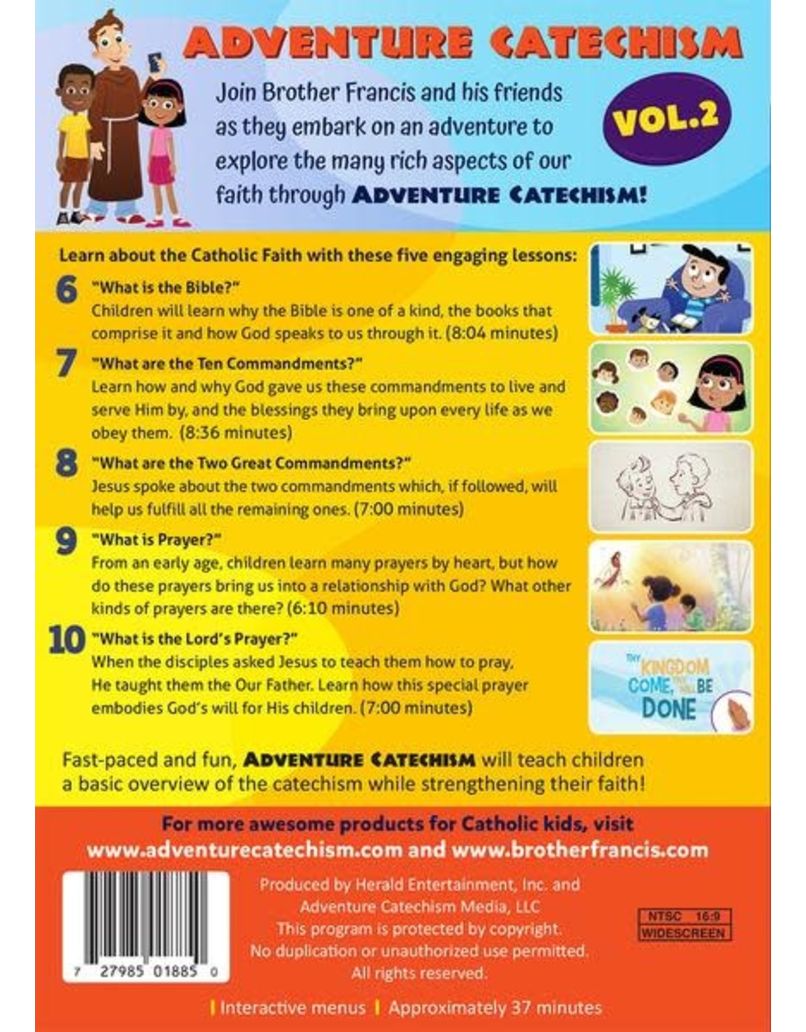 Brother Francis Adventure Catechism Volume 2 - DVD