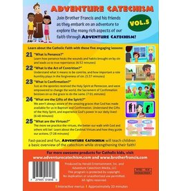 Brother Francis Adventure Catechism Volume 5 - DVD