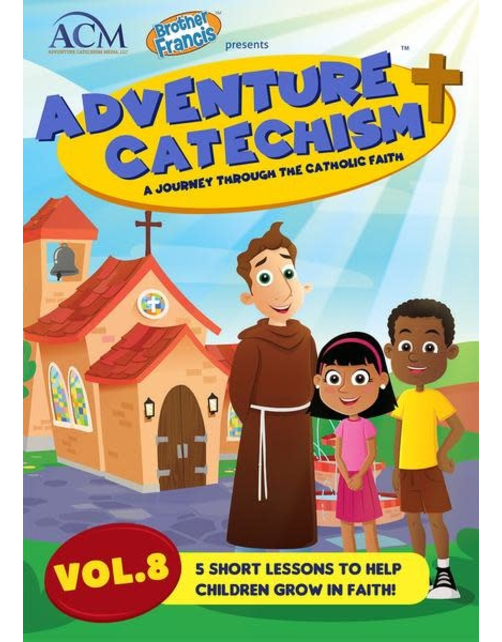 Brother Francis Adventure Catechism Volume 8 - DVD