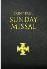 St Paul Sunday Missal Blk Leatherflex