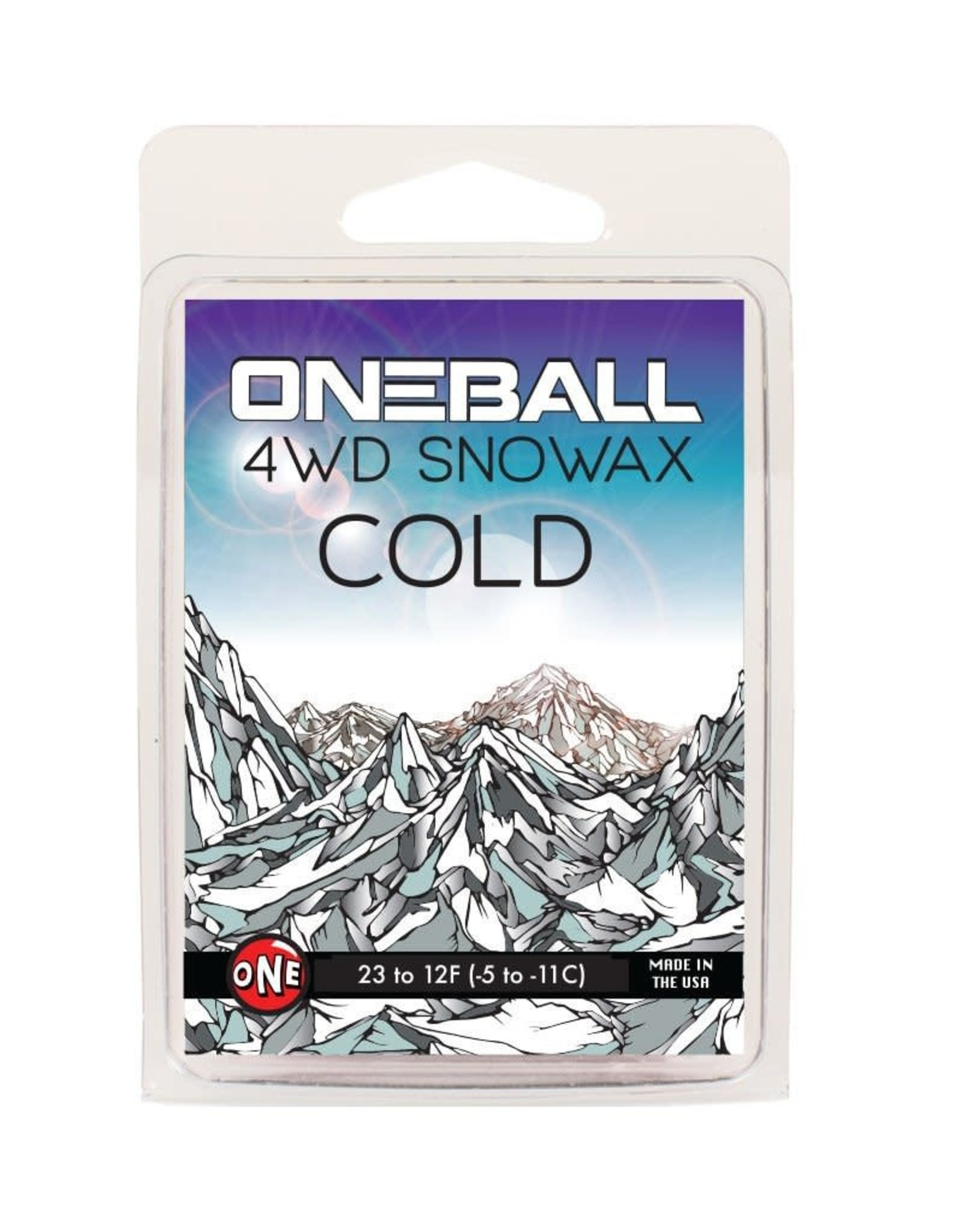 Oneball Mfg. 4WD Snowboard Wax 165g