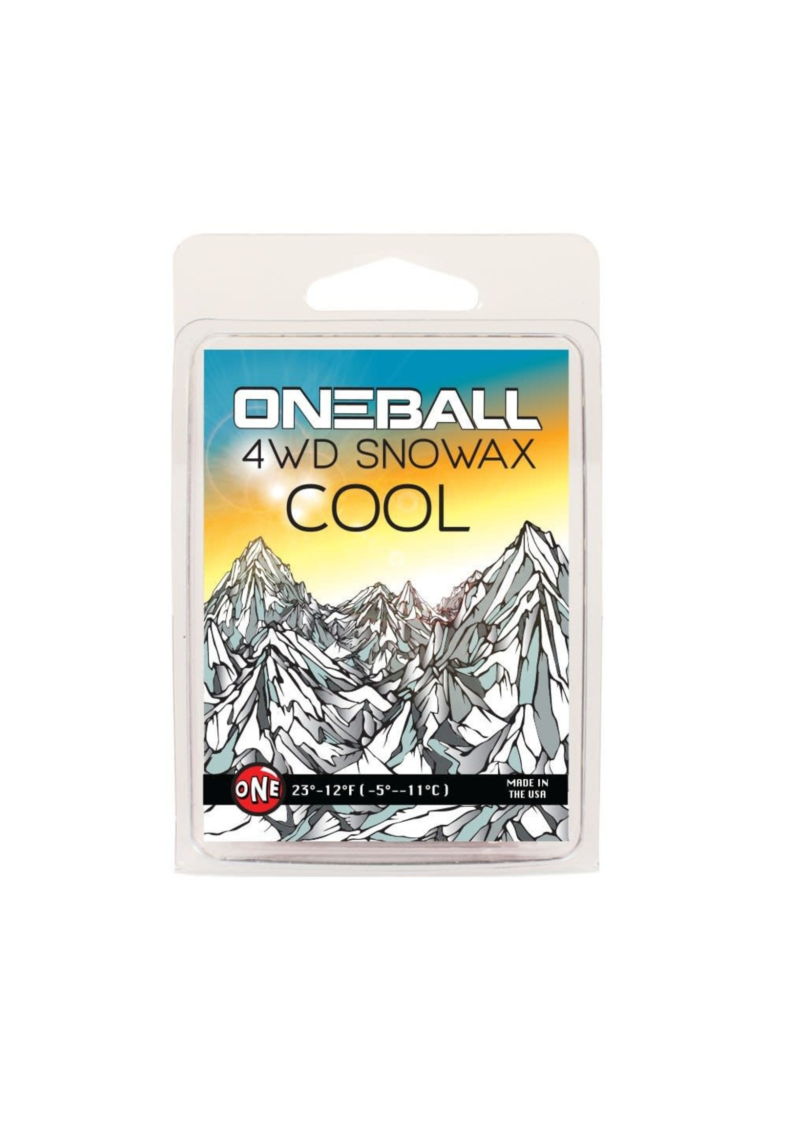 Oneball Mfg. 4WD Snowboard Wax 165g