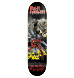 ZERO ZERO X IRON MAIDEN The number of the beast 8.25