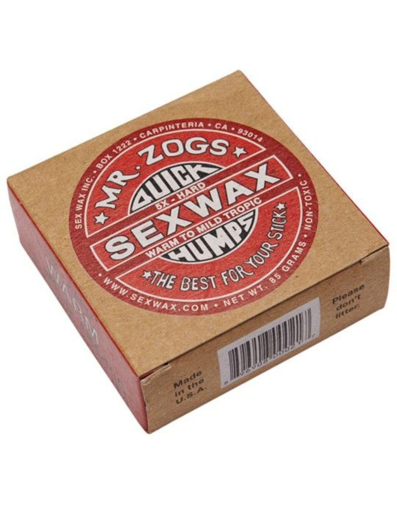 Mr. Zogs Mr, Zogs Sex Wax Red (Mild Tropic)