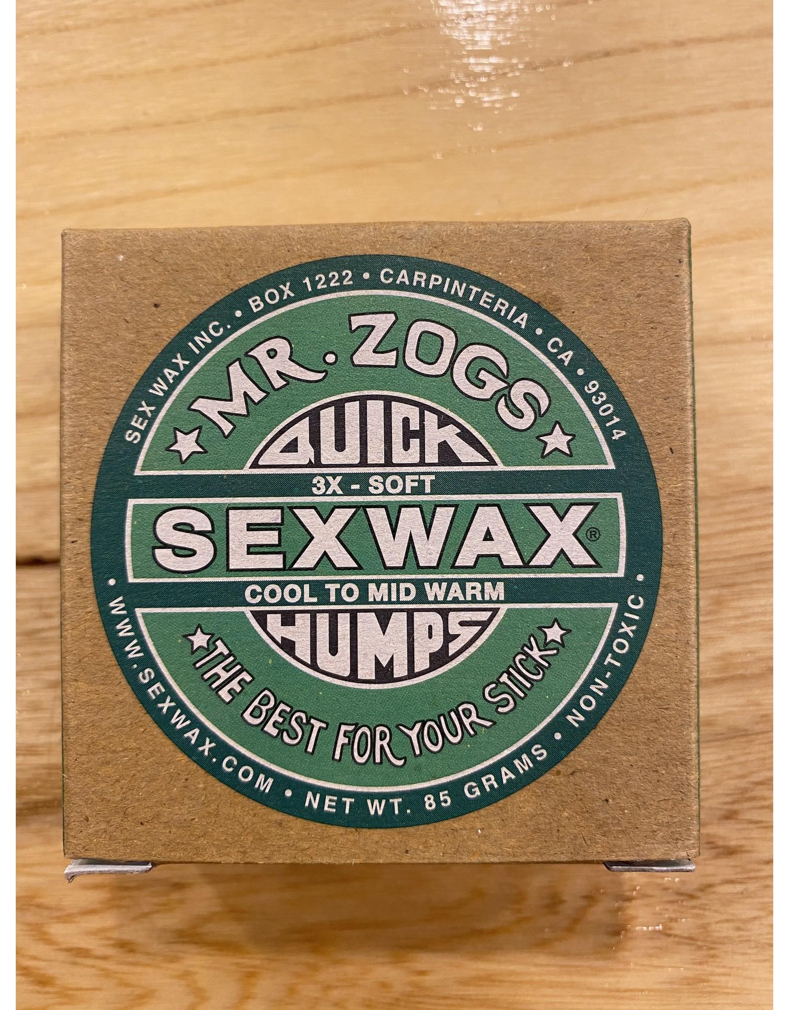 Mr. Zogs Mr. Zogs Sex Wax Green (Cool)
