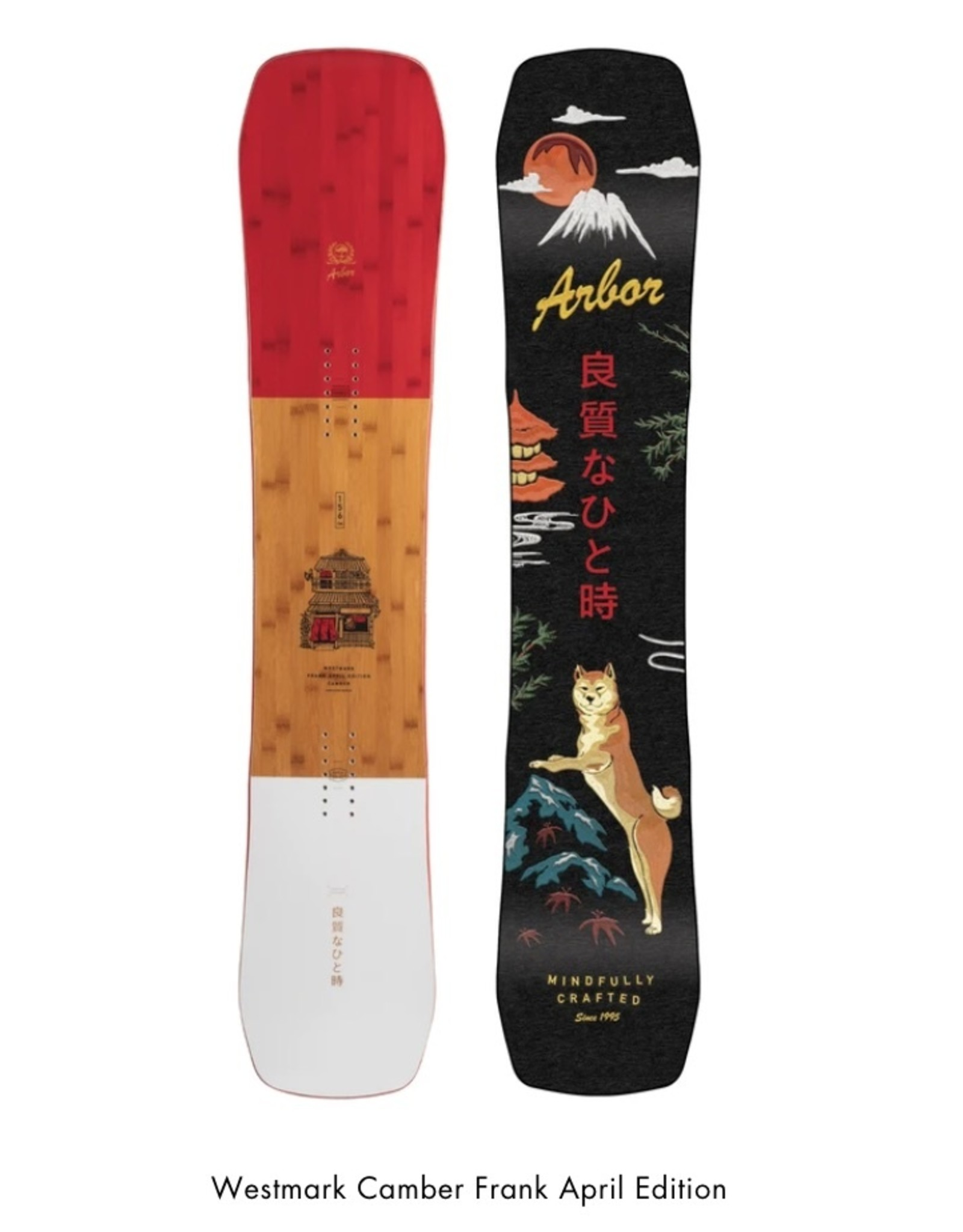 Arbor Snowboards Westmark Camber Frank April