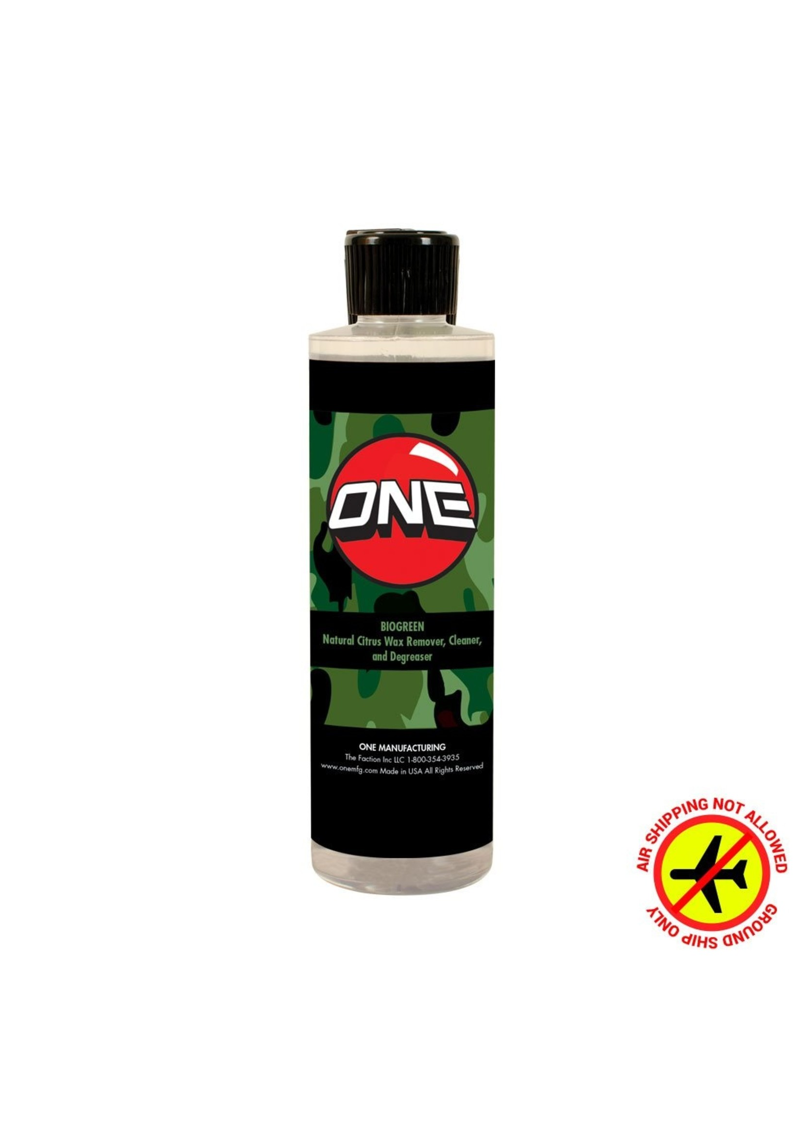 Oneball Mfg. BIOGREEN WAX REMOVER (8oz)