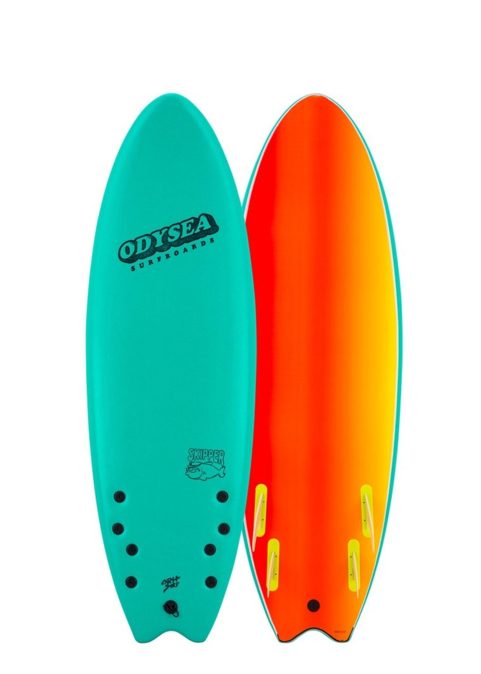Catch Surf Odysea Skipper Quad Emerald Green 6-0