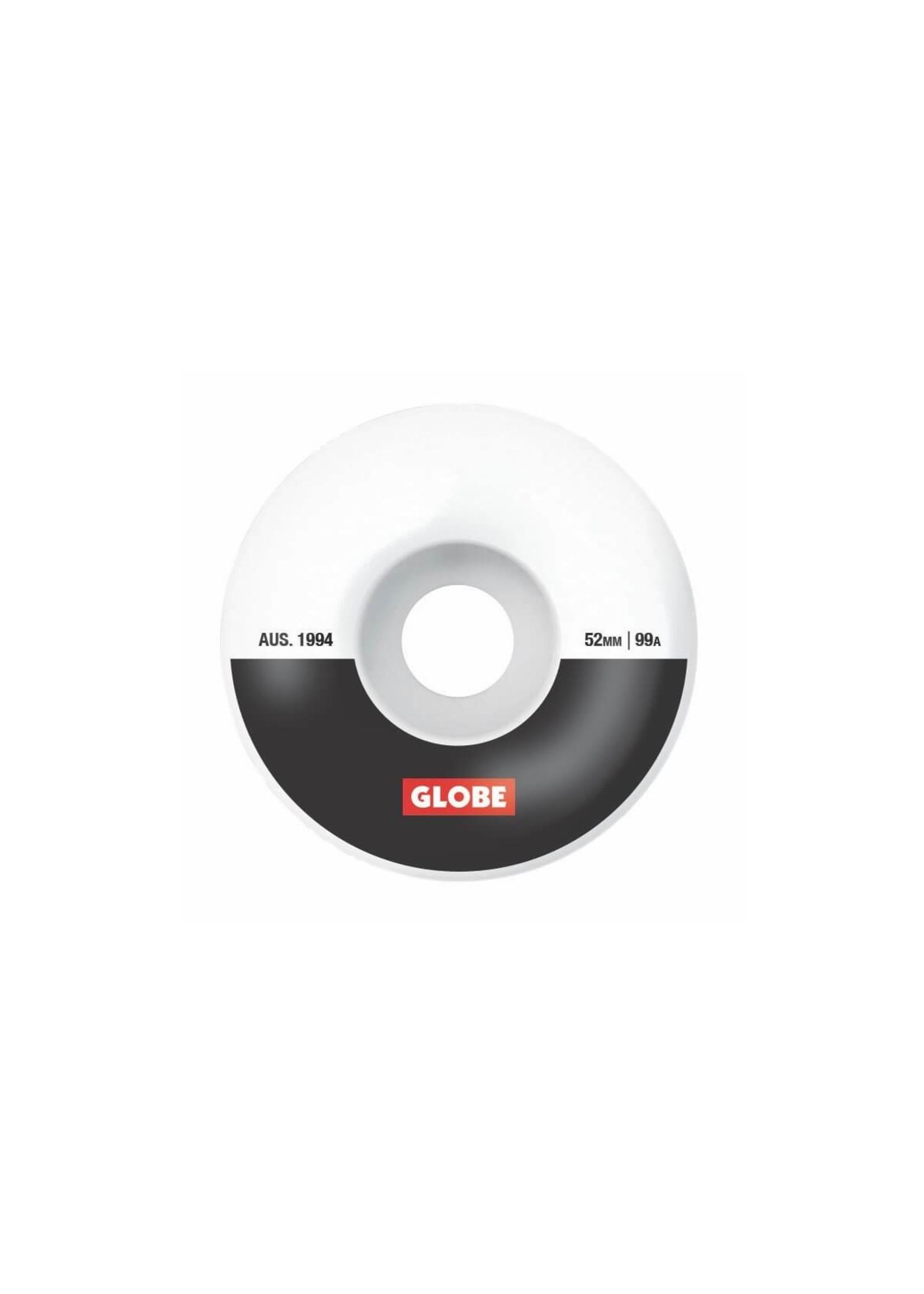 Globe G1 STREET WHEEL (white/black/bar)