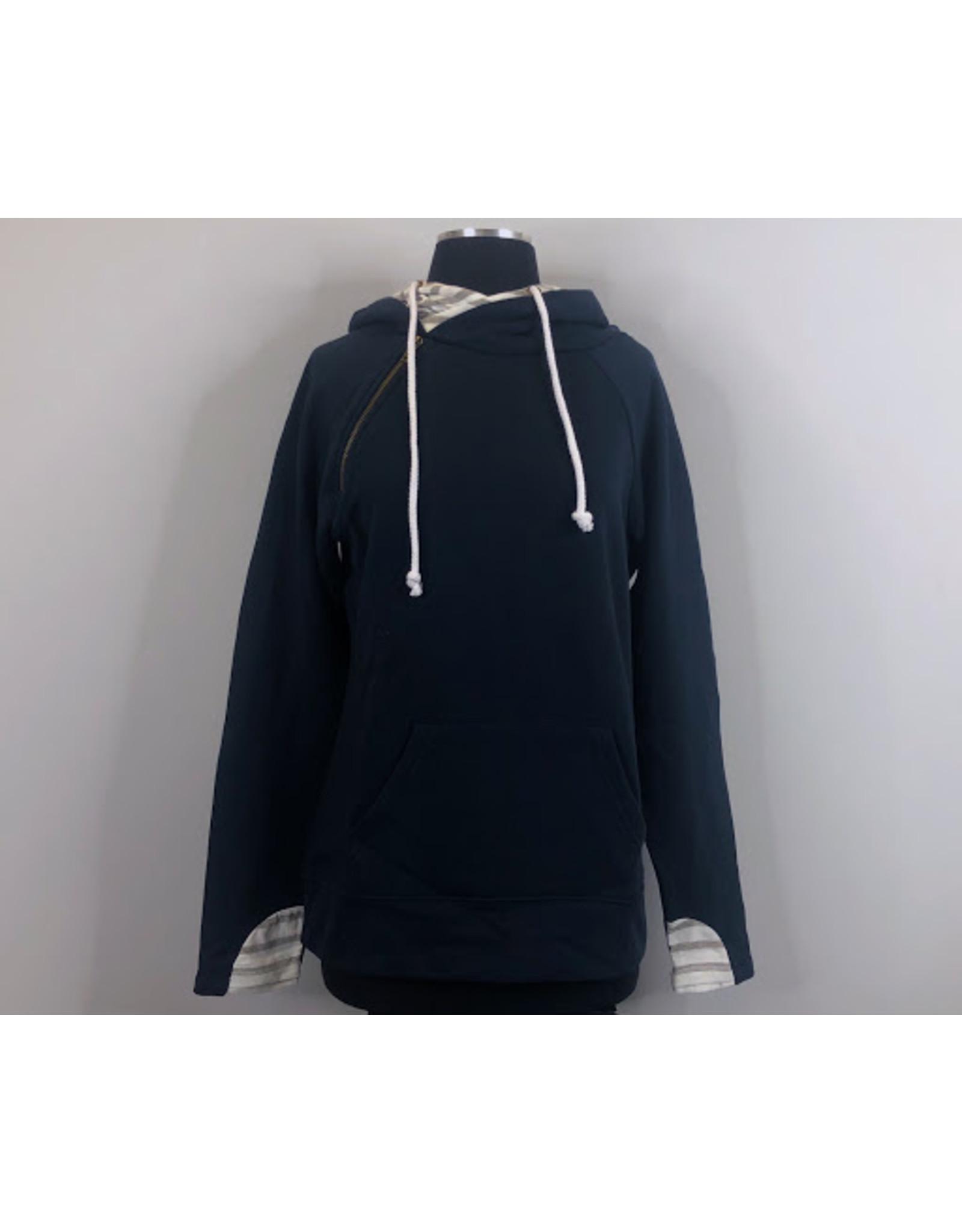 Enza Allen Double Hood Pullover