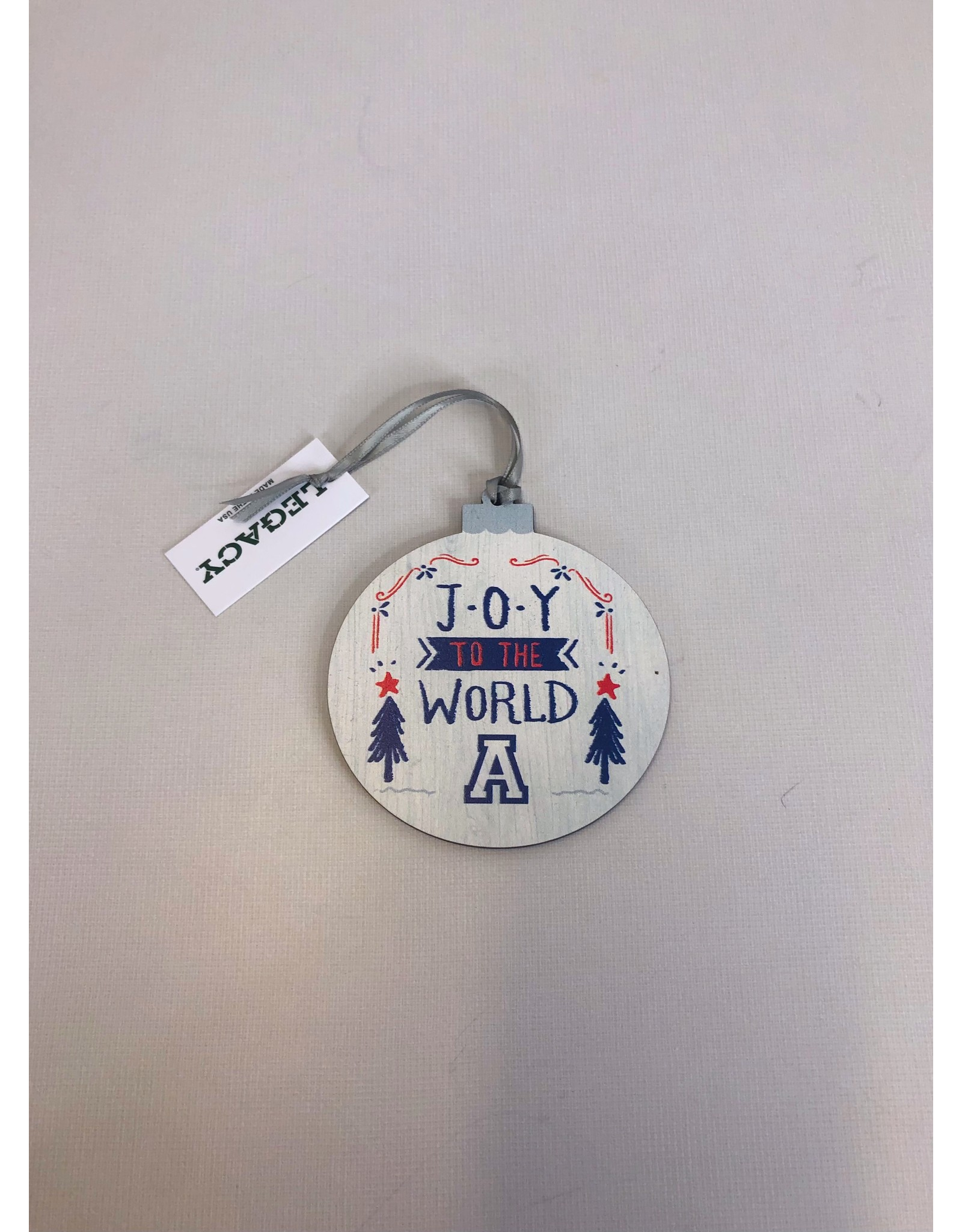 L2 Brands Joy to the World Ornament